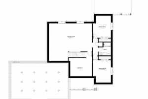 2016-24-full basement - Floor Plan - BASEMENT FLOOR PLAN-PRESENTATION