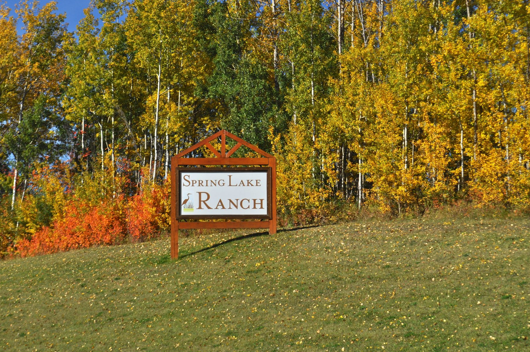 East Entrance in the fall