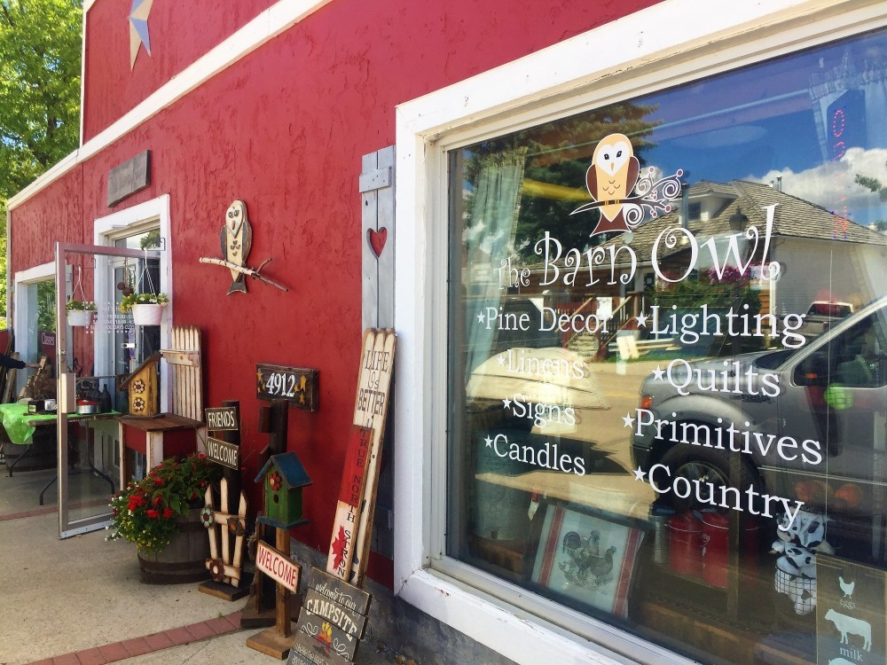 Part Country Decor Woodworking Craft Classes The Barn Owl Is One Of Stony Plains Most Unique Businesses Customers Rave About Decorative