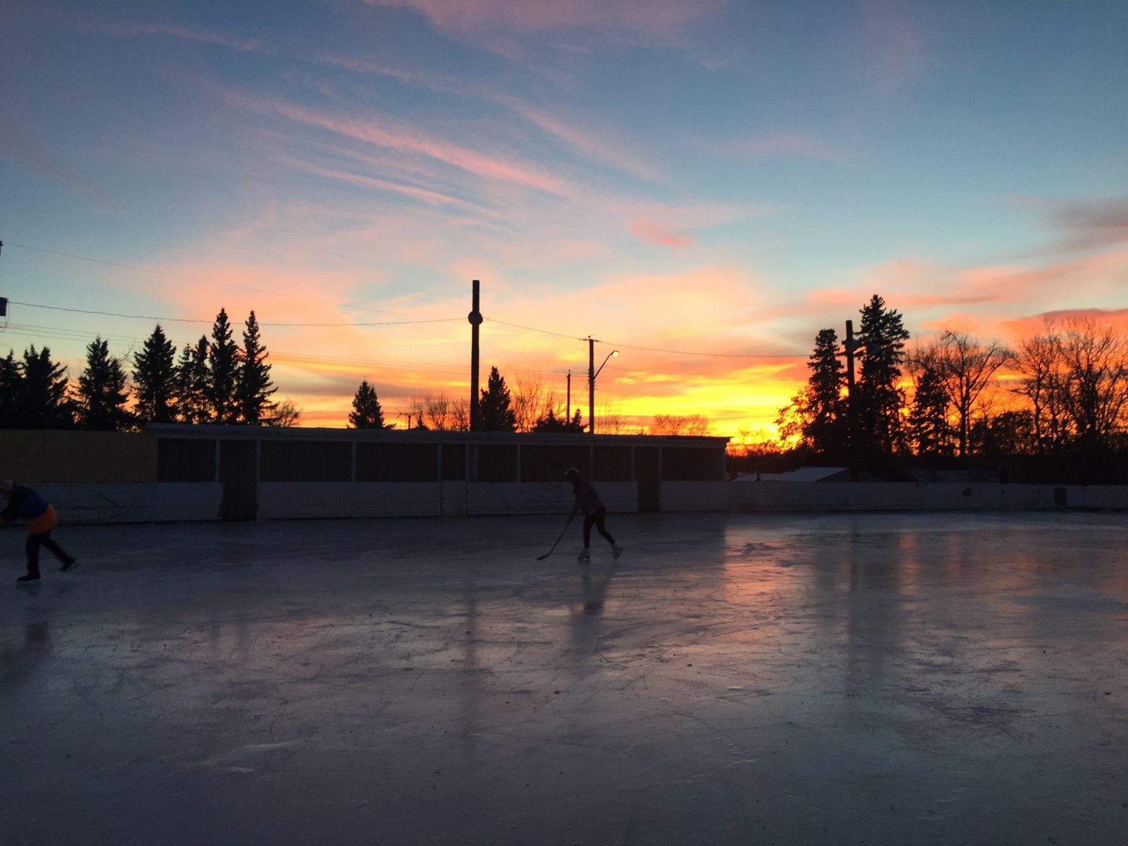 72a6b30e A couple minutes away in The Village of Spring Lake, residents have access  to the outdoor skating rink. This is a great spot to teach your kids how to  skate ...
